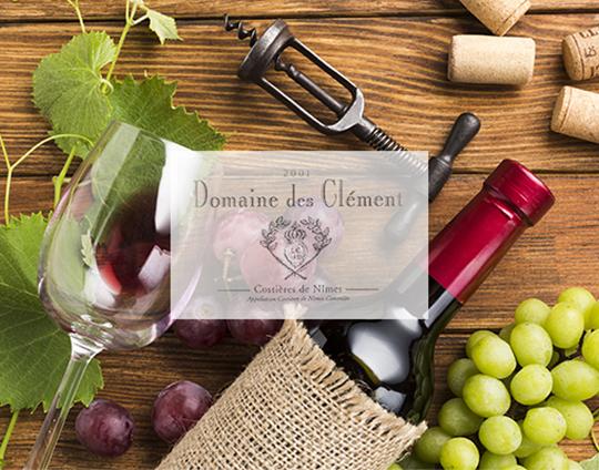 Domaine des Clement vin rose nimes saint gilles gard degustation de vin tapas restaurant
